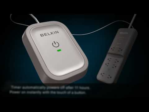 Belkin Conserve Surge Protector 3D Animation Demo by Adcetera