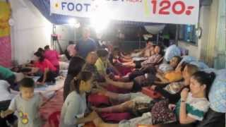 Chiang Mai - Night Markets -  Traffic - Tuk Tuk Ride - Railway Station - Tour Buses - Thai Massage