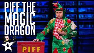 Video Piff the Magic Dragon on America's Got Talent | Magicians Got Talent MP3, 3GP, MP4, WEBM, AVI, FLV Juni 2019