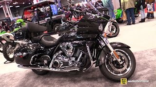 7. 2015 Kawasaki Vulcan 1700 Voyager ABS - Walkaround - 2014 NY Motorcycle Show