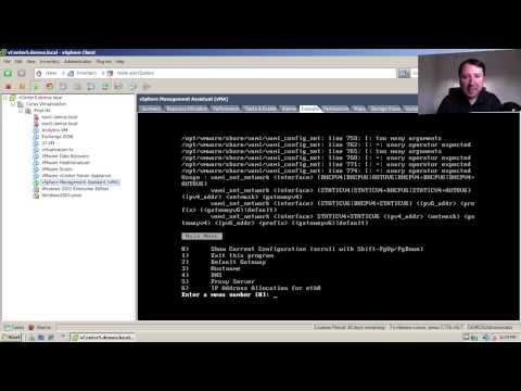 ¿Como instalar el vMA - vSphere Management Assistant ?