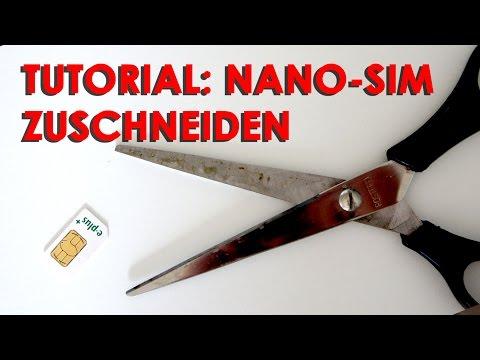 kann man eine micro sim zu einer nano sim zuschneiden