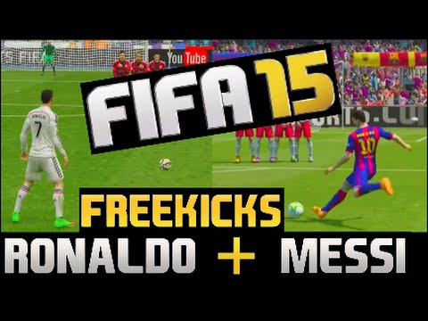 Channel - Subscribe to Matt his Channel is hilarious! https://www.youtube.com/user/MattHDGamer A Ronaldo Special Knuckleball Freekick & a Classic Messi Freekick! We (The F2) see if we can recreate our...