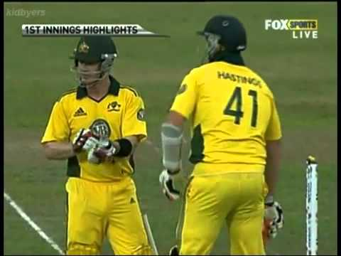 Malinga&amp;#039;s Hat-Trick vs Australia 2011 HQ