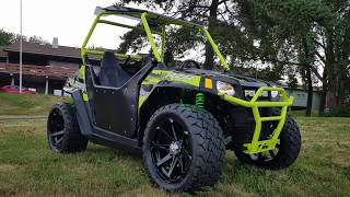 7. Polaris RZR 170 custom build