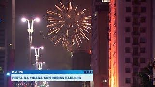 Municípios terão a festa da virada com fogos de artifício menos barulhentos
