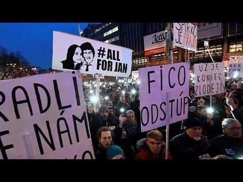 Μεγάλη διαδήλωση κατά του πρωθυπουργού για την υπόθεση «Κούτσιακ»…