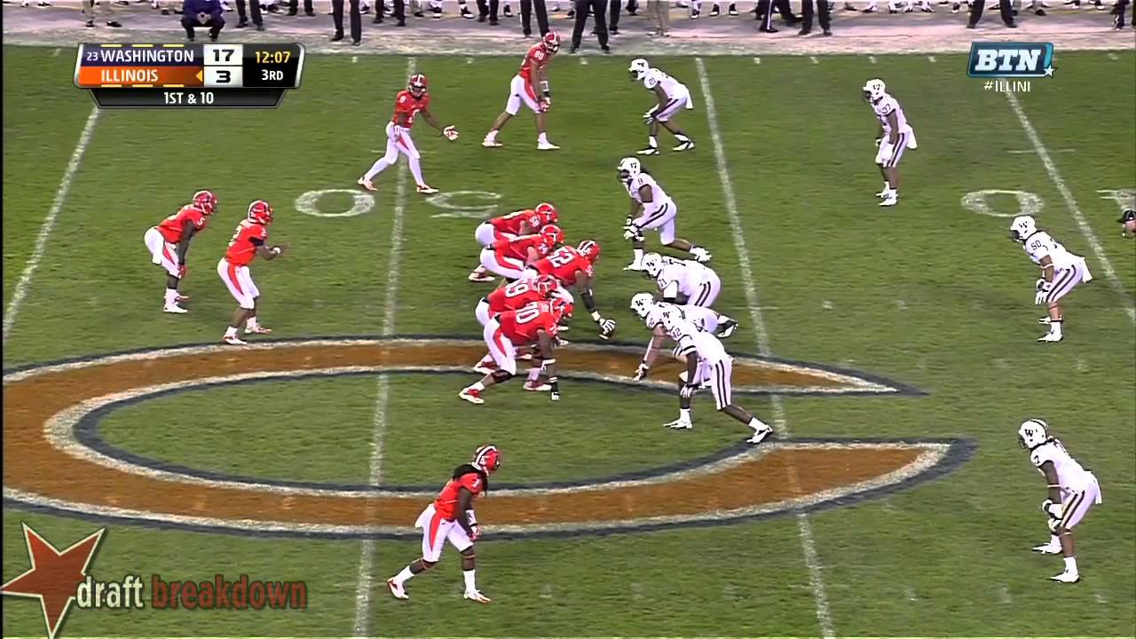 Danny Shelton vs Illinois (2013)