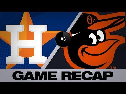 Video: Ruiz's walk-off HR seals Orioles' 8-7 win   Game Highlights Astros-Orioles 8/11/19