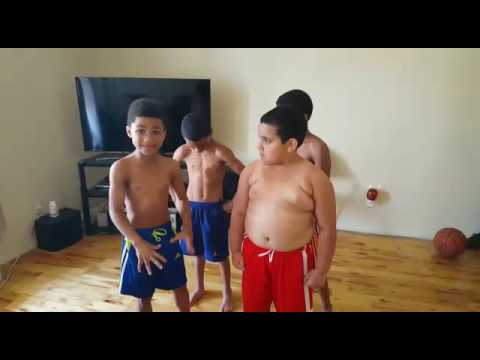 The Little Boy Who Trains His Friends to Workout has a New Recruit. He Handles it So Well.