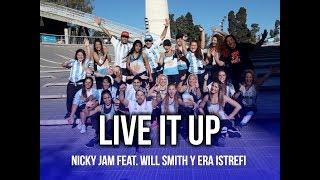 Live It Up - Nicky Jam feat. Will Smith y Era Istrefi (2018 FIFA) | KF Dance | Coreografía Zumba®