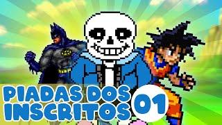 Piadas engraçadas - DRAGON BALL, BATMAN  PIADAS DOS INSCRITOS 01