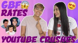 Video MY GAY BEST FRIEND RATES MY YOUTUBE CRUSHES | Just Sharon MP3, 3GP, MP4, WEBM, AVI, FLV Januari 2018