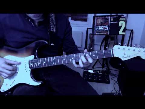 John Mayer - Gravity Live in LA Cover Intro + 1st solo with Tab