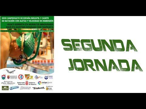 2. Jornada Cto. España Infantil y Cadete de Natación con Aletas y Velocidad en Inmersión