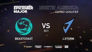 J.Storm vs beastcoast, EPICENTER Major 2019 NA Closed Quals , bo1 [Maelstorm & Lost]
