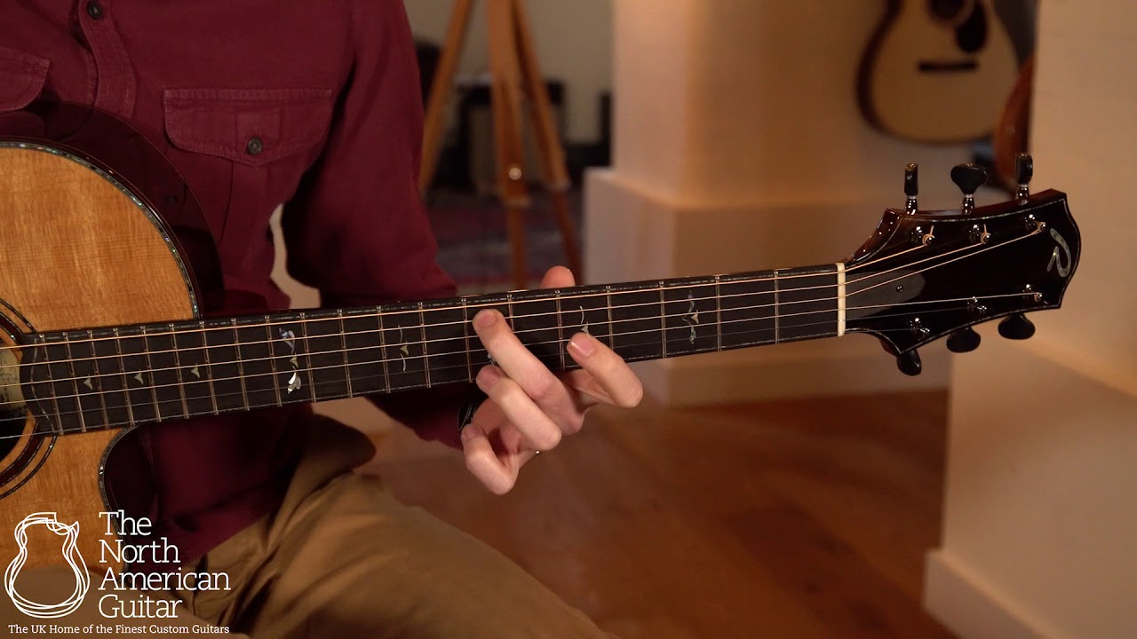 Ryan Nightingale Grand Soloist Acoustic Guitar Played By Will McNicol (Part One)