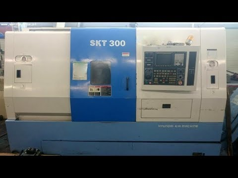 CNC Lathe HYUNDAI KIA SUPERKIATURN SKT 300 2005