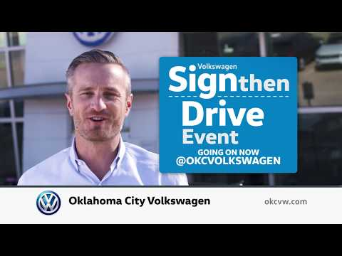 Oklahoma City Volkswagen Sign Then Drive Event