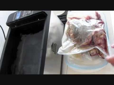 Cocinando al vacío una pierna de cordero con Sousvide Compact