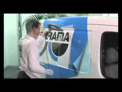 Оклеивание автомобилей пленками для цифровой печати