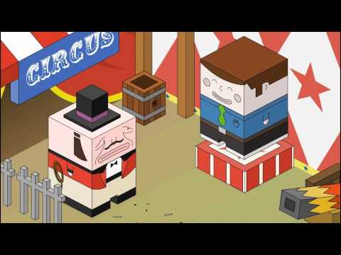Animation Character: Cuboy Series