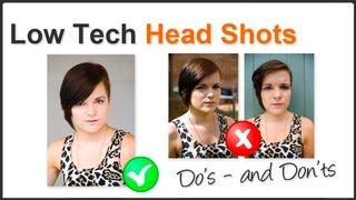 How To Shoot Head Shots At Home