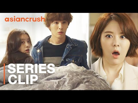 When your crush finds you in bed with another girl | Korean Drama | My Unfortunate Boyfriend