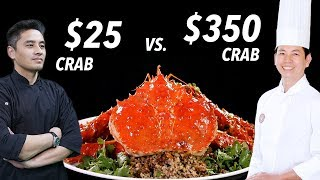 Video $25 Crab vs. $350 King Crab by Master Chef • Taste The Chinese Recipes Show MP3, 3GP, MP4, WEBM, AVI, FLV Juli 2019