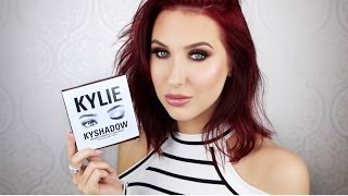 Kylie Kyshadow Palette | Tutorial + First Impressions by Jaclyn Hill