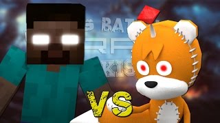 Herobrine vs Tails Doll. Épicas Batallas de Rap del Frikismo ¡Bonus! | Keyblade