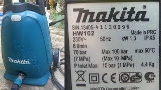Автомойка Makita HW 102 - фото 6