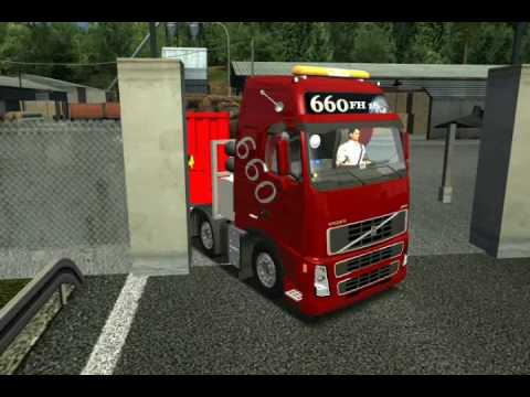 German Truck Simulator 2010 Volvo FH16 660 8x4 Part 1
