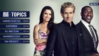 UNDISPUTED Audio Podcast (5.19.17) with Skip Bayless, Shannon Sharpe, Joy Taylor | UNDISPUTED