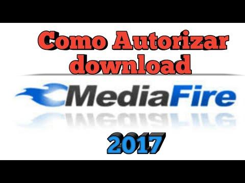 Como autorizar o download do Mediafire atualizado-2017