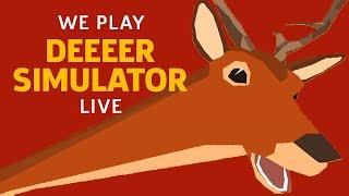 We Terrorize Humans in DEEEER Simulator by GameSpot
