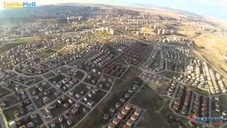 Multikopter ile Ankara Çayyolu Genel Görünüm