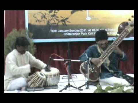 Subho Chakraborty-Sitar .:Rag Todi :Drut Teental -Part -1