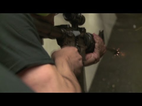 Machine gun tourism in Las Vegas