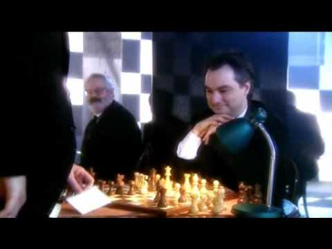 Derren Brown beats 9 chess players simultaneously.