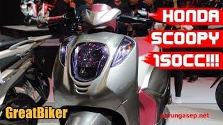 กระแสมาแรง Honda เตรียมส่ง Scoopy 150 ลงตลาดปี 2019!!!