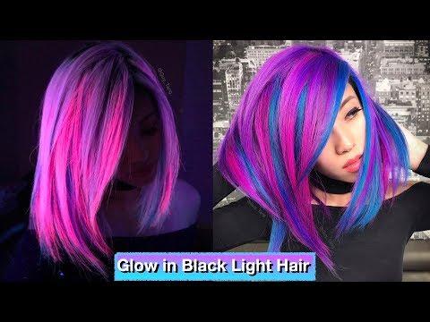 Hair salon - Glow in Black Light Hair