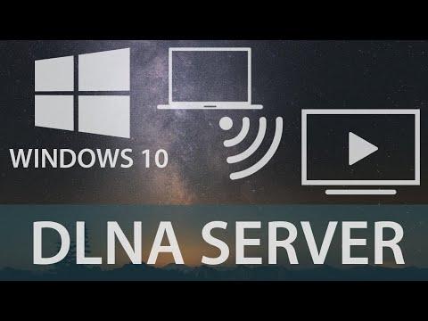 WINDOWS 10 | How To Stream Videos Using DLNA Server