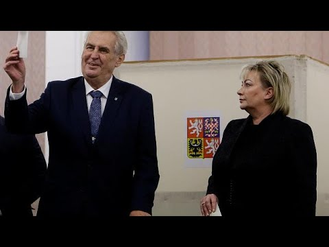 Präsidentschaftswahlen in der Tschechischen Republi ...