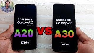 Samsung Galaxy A20 vs Galaxy A30 Speed Test Comparison?