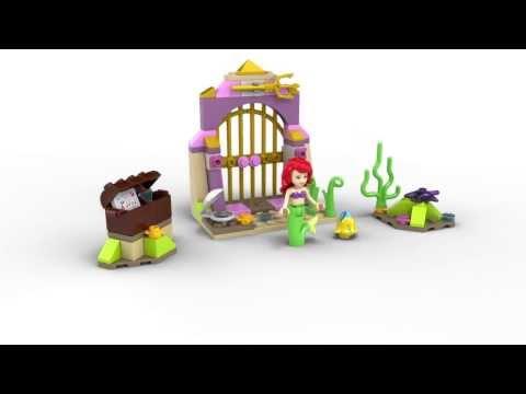 Vidéo LEGO Disney 41050 : Les trésors secrets d'Ariel