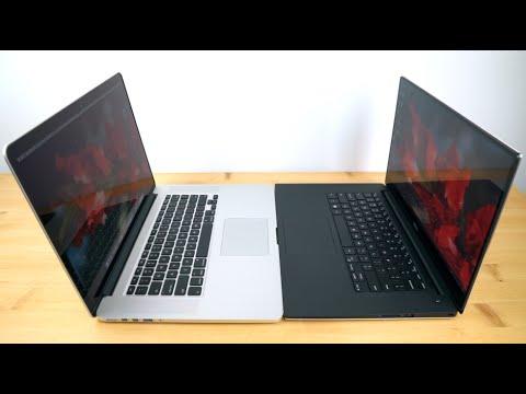 , title : 'Dell XPS 15 Infinity vs.  Retina MacBook Pro 15 mid 2015 Comparison Smackdown'