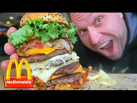 McDonald's Most Expensive Burger!