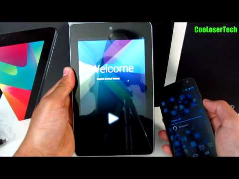 New Nexus 7 Unboxing – Pure Google Asus Tablet quad core Android 4.1 Jelly Bean