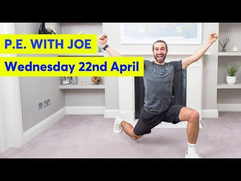 PE With Joe    Wednesday 22nd April